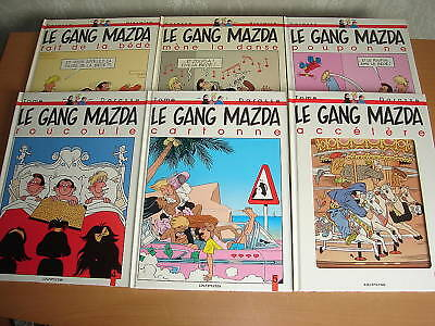 Lot Bd Le Gang Mazda Tomes 1 A 6 Tous Eo Darasse / Tome