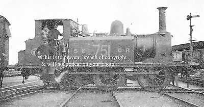 Photo Of Terrier Tank Shunting At Folkestone Harbour 1919