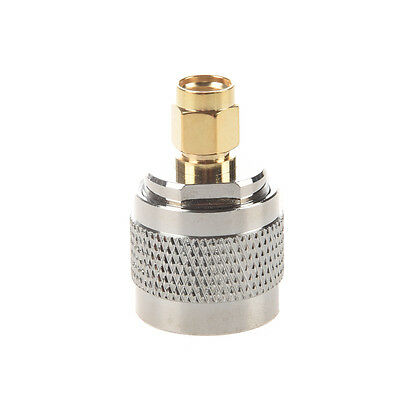 V1P Silver N Type Male to RP-SMA Male Plug Adapter Coaxial ble Connector