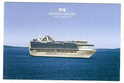 ms RUBY PRINCESS...CRUISE SHIP...Princess post card