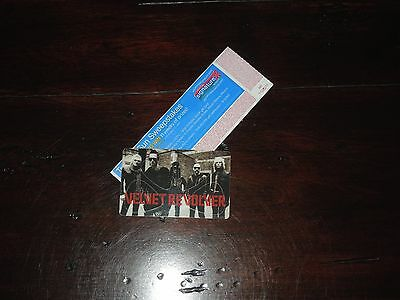 2007 Velvet Revolver And Alice in Chains Tour Guitar Picks X4 + Concert Ticket