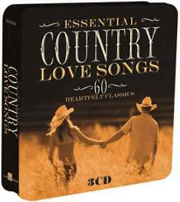 Various Artists-Essential Country Love Songs  CD / Box Set NEW