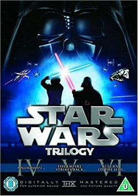 STAR WARS TRILOGY SERIES - 4 5 6 Theatrical Remastered New Sealed Region 2 DVD