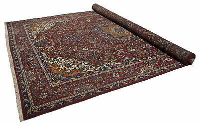 392x295 CM Tappeto Carpet Tapis Teppich Alfombra Rug (Hand Made)