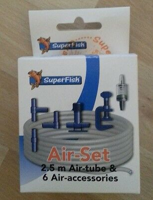 SuperFish Air-Set tube de 2,5m + 6 accessoires