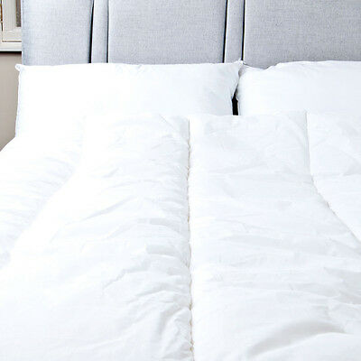 His and Hers Partners Dual Tempo Hollowfibre Duvet 4.5 & 9 Tog  Slight Second