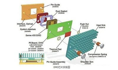 NEW 8060-642AY DMD chip for LED projector DMD chip