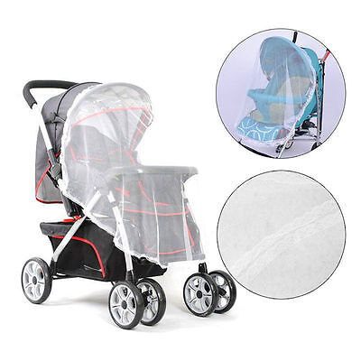 Universal Baby Buggy Pram Mosquito Cover Net Pushchair Stroller Insect Protector