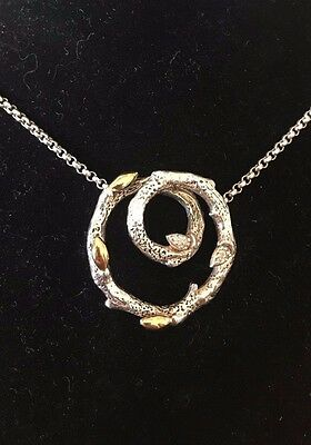 Dweck Diamonds Sterling .925 Fortuna  Branch Necklace on Chain