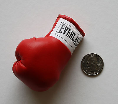 "Everlast Red Boxing Glove One Miniature 3"" Replica Makes A Knockout Souvenir"