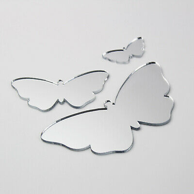 Butterfly Acrylic Mirror Home Bathroom Children/' Babies Safety Wall Shatterproof