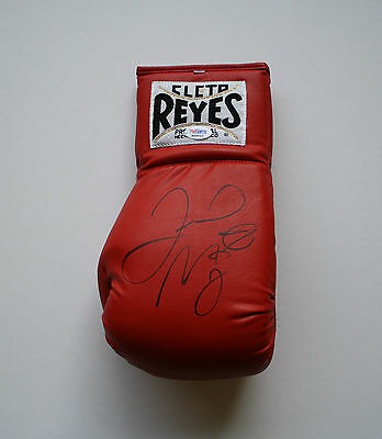 Floyd Mayweather Authentic Signed Cleto Reyes Boxing Glove Autograph Psa/dna