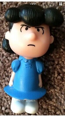2015 Peanuts Angry Talking Lucy McDonalds Toy