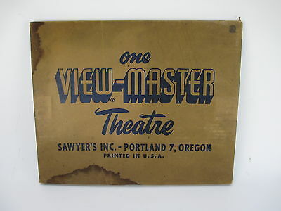 Vintage View-Master Theater