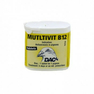 Pigeon Product - Multivit B12 by DAC - for Racing Pigeons
