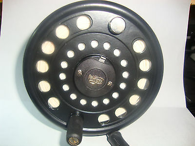 Large Cortland CLX4 cassette disc drag fly reel.-Lower price.