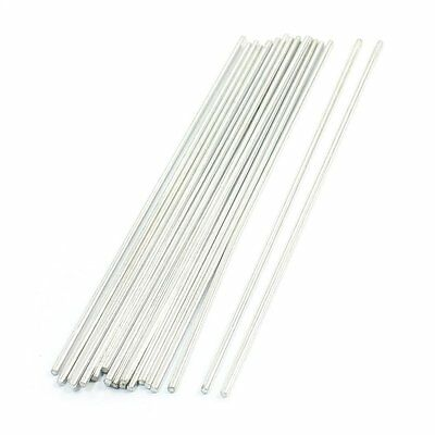 20Pcs Stainless Steel Round Shaft Rod Axles 150mmx2mm for RC Toy Car M3S0