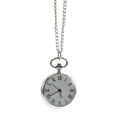 Antique Dial Quartz Round Pocket Watch with chain Mechanical Movement M3S0