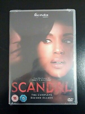 Scandal: Complete Second Season Series 2 (DVD) Kerry Washington, New & Sealed