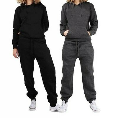 Ladies tracksuit with elasticated waist bottoms and hoody top with pockets