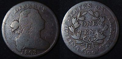 1803 Draped Bust Large Cent, Nice Planchet, Problem Free
