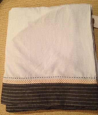 Pottery Barn Kids Row Your Boat Crib Skirt /Dust Ruffle