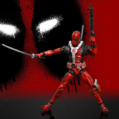 PER DEADPOOL ACTION FIGURE universo X-Men FUMETTO SERIE giocattolo modello - UK