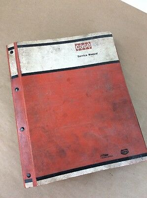 Case W14 Loader Service Manual Repair Shop Book Technical