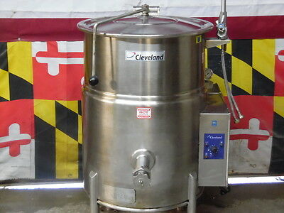 Cleveland KGL-25 Natural Gas Steam Jacketed Kettle