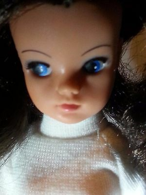 Vintage Pedigree Sindy High Colour Brunette Hair in good condition.