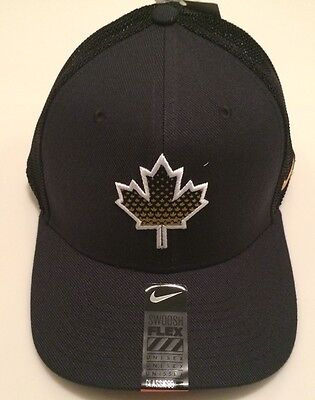 2017 World Juniors Championship Team Canada WJC IIHF Hat Cap Maple Leafs Black