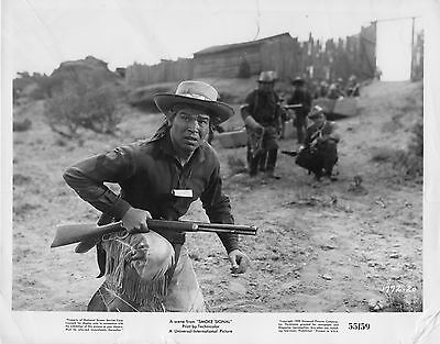 "6 Movie photos original 8""x10""Smoke Signal 1955 Dana Andrews - Piper Laurie"