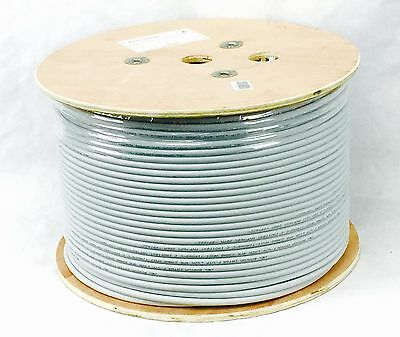 Cat6a Solid Core Cable F/UTP 4 Pair LSZH 305m on Drum Light Grey