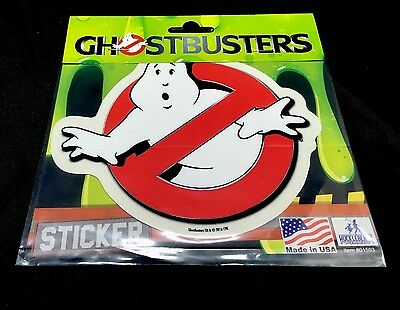 Ghostbusters Ghost Busters Vinyl Car Sticker Decal 5 1/2 x 4 3/4 **NEW**