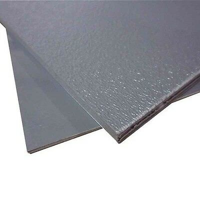 "ABS Plastic Sheet Light Gray Vacuum Forming 1/8"" Thick 6"" x 12"""