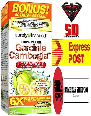 NEW GARCINIA CAMBOGIA  6 X 3200mg Super strength USA 1  Weight Loss/ Fat Burner