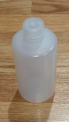 THERMO SCIENTIFIC NALGENE NARROW MOUTH PACKAGING 500mL 16OZ BOTTLE LDPE