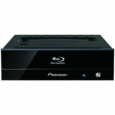 Pioneer BDR-S09J-X BD-R 16x BD/DVD/CD Blu-ray Disc Writer piano black for PC