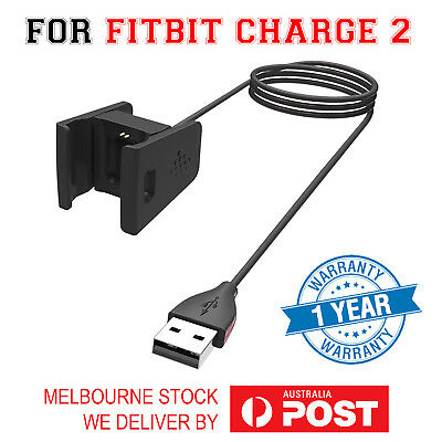 USB Charger Charging Cable For Fitbit Charge 2 Wristband Smart Fitness Watch