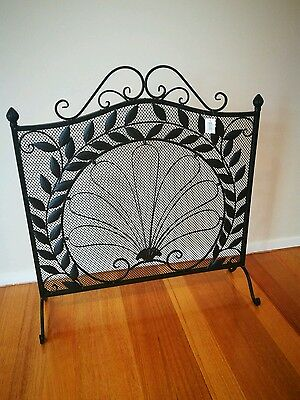 Fire screen. Brand new. French provincial looking. Decor. Fireplace.