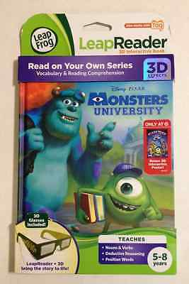 LeapFrog Interactive Book 3D Effects-Disney Monsters University (Works with Tag)