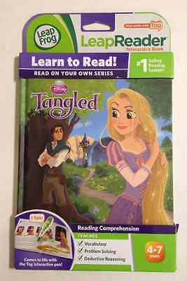 LeapFrog LeapReader Interactive Book - Disney Tangled  (Works with Tag)