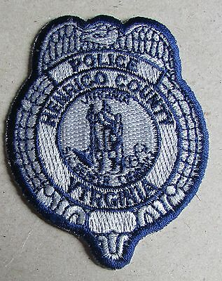 Unused United States Police Uniform Badge / Patch - Henrico County Virginia