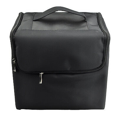 B6A1 NEW Makeup Pro Storage Beauty Box Travel Cosmetic Organizer Carry Case