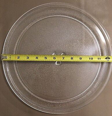 """Microwave Turntable Glass Tray Plate Replacement 12.75"""" Model 100 H40"""