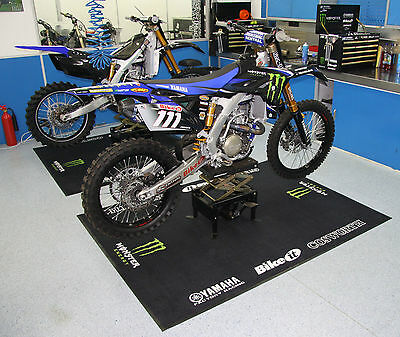 Ex-Team 2013 Monster Energy Factory Motocross Garage Track Mat Unused Ltd Stock