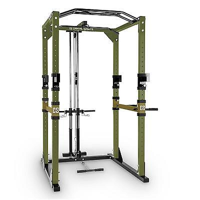 Robust Power Rack Multi Gym Strength Training Lat Pull Steel Squat Cage *freep&p
