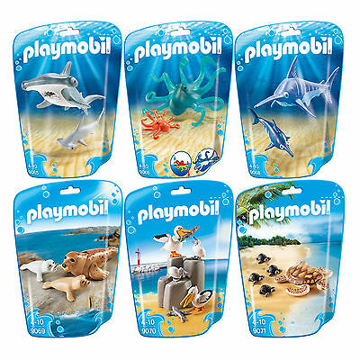 PLAYMOBIL® Family Fun 6er Set 9065 9066 9068 9069 9070 9071 Komplettset Tiere