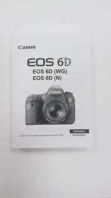 Manual Canon EOS 6D (Castellano)