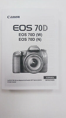Manual Canon EOS 70D (Castellano)